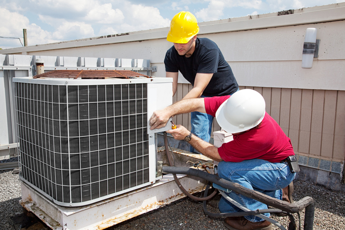 Air Conditioning Installation   Blue Cloud AC Repair